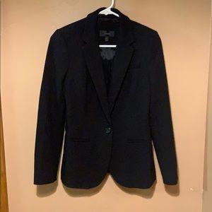 Worn once J.crew black blazer. No flaws, size 0